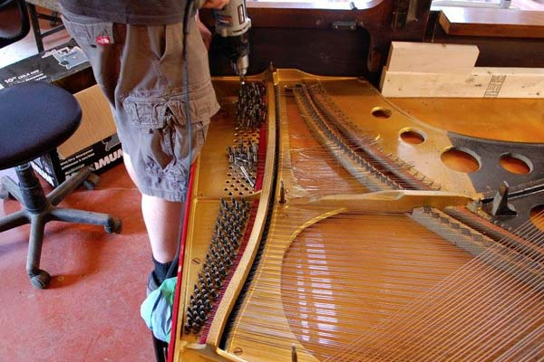 Piano Repair Services - Restringing